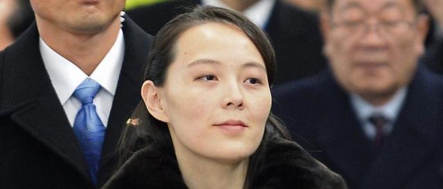 Secondo alcune indiscrezioni, protagonista del presunto viaggio in Cina potrebbe essere Kim Yo-jong, sorella del leader della Corea del Nord