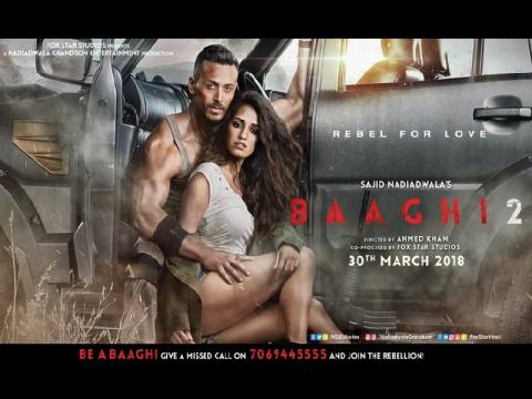 Baaghi 2 Movie Trailer: tiger shroff disha patani baaghi movie ... - thebollywoodticket.com