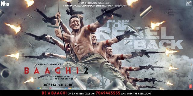Baaghi 2: Tiger Shroff looks like a tigger-happy rebel in this new ...(Image Credit: Zoom Tv/Youtube)