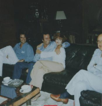 Julio Iglesias y Mimi Korman juntos en una velada en 1978 (Bobadilla Law Firm)