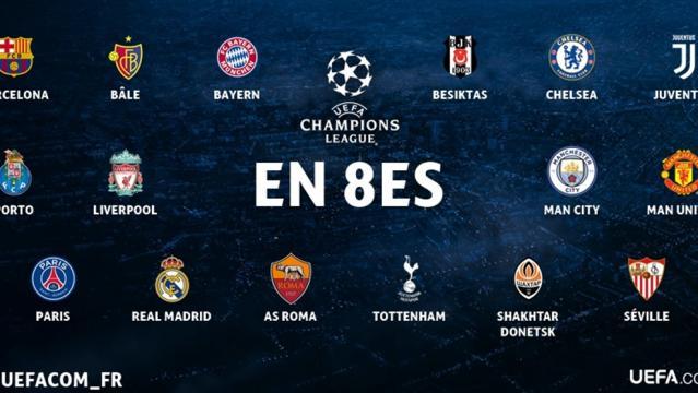 Tirage des huitièmes : comment ça marche ? - UEFA Champions League ... - uefa.com