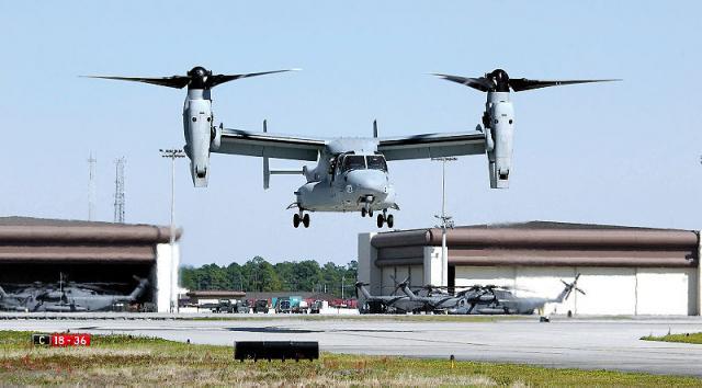 VTOL aircraft of the U.S. Navy (Image credit - Steven Kays, Wikimedia Commons)