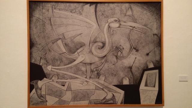 Pájara con lombriz, 2004. Autor: Mario Martín del Campo