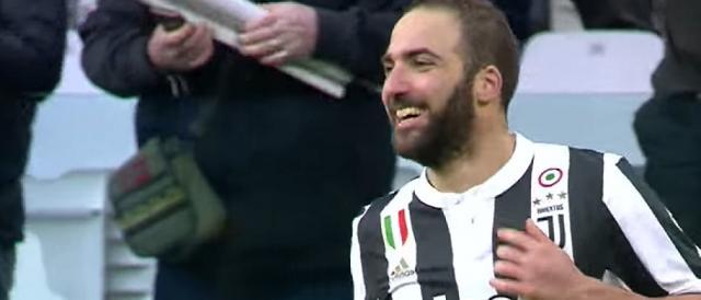 Gonzalo Higuain, uno dei punti di forza della Juventus