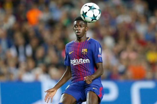 Barcelona ace Ousmane Dembele back in training but will not play ... - thesun.co.uk