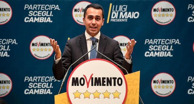 Luigi Di Maio leader politico M5S