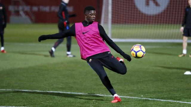 Ousmane Dembélé receives medical discharge - FC Barcelona - fcbarcelona.com
