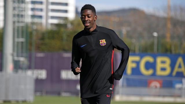 Vidéo - Dembélé, sur le chemin du retour - FC Barcelona - fcbarcelona.fr