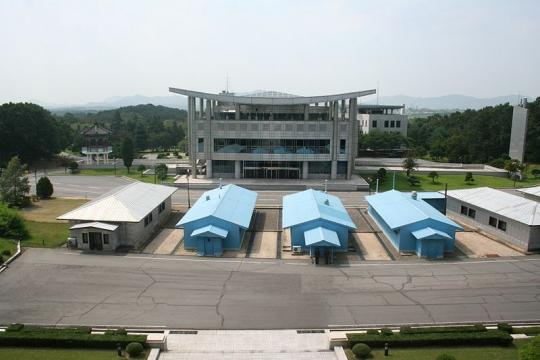 North-South Korean border. - [Image credit – Michael Day, Wikimedia Commons]