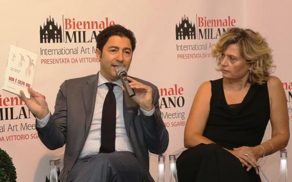 Salvo Nugnes con Vanna Ugolini