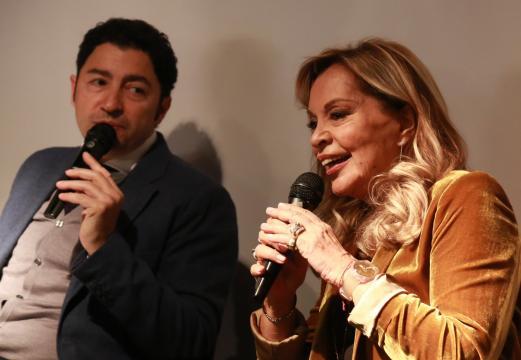 Salvo Nugnes e Silvana Giacobini