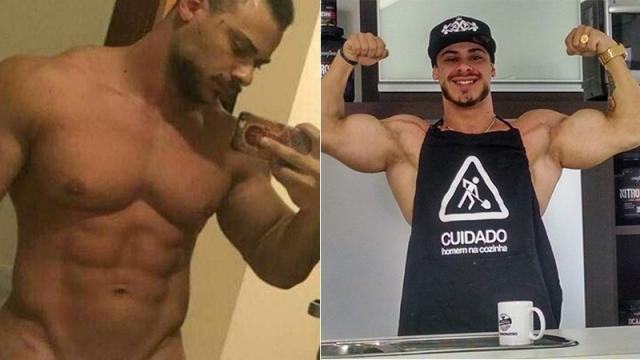Léo Stronda tem foto publicada nas redes onde está totalmente sem roupa