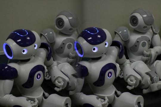 Nao robot demo, Jaume University (Image credit – Kai Schreiber/Wikimedia Commons)