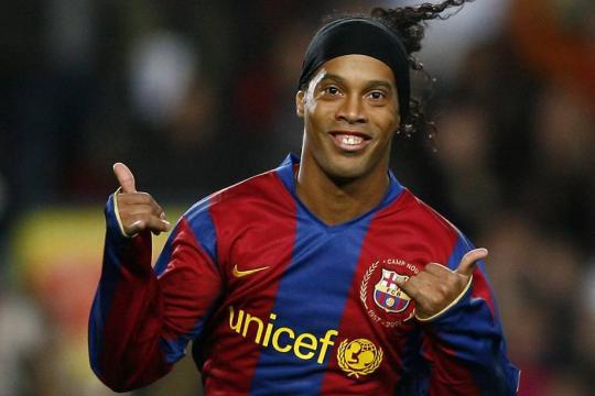Ronaldinho Gaúcho tem vídeo divulgado.