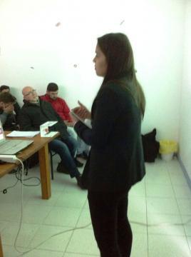 Alunos da Universidade Sénior de Esposende presentes na conferência