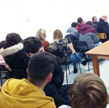 Sala cheia como é habitual nas conferências