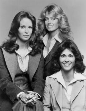 This is a photo of the cast of female heroes from TV show, 'Charlie's Angels.' [Image via wikimedia.org]