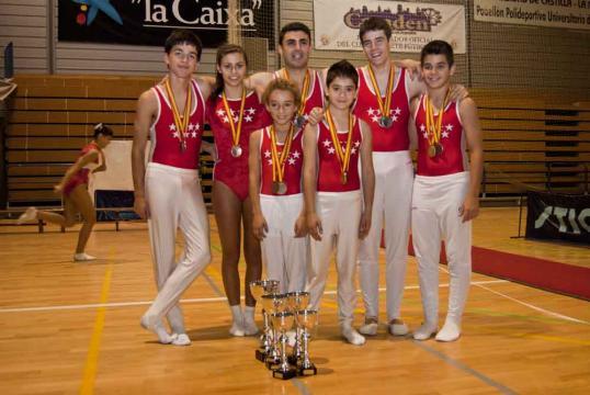 Los gimnastas de Getafe destacan en el Campeonato de España de ... - laquincena.es
