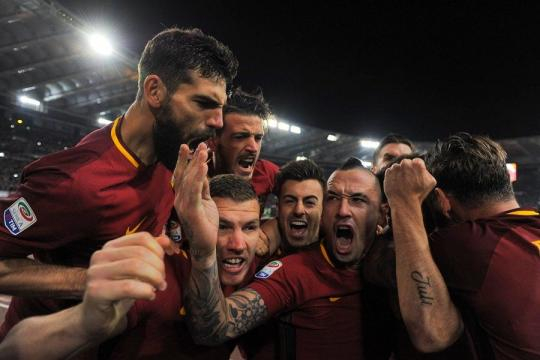 Roma - Barcellona 3-0 Miracolo Roma