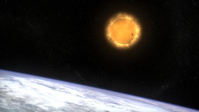 Venus and Earth [Image via Flickr]