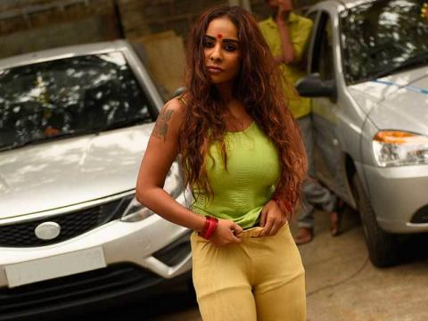 Actress Sri Reddy strips to protest sexual abuse of women in the ...(Image India Tv/Youtube)
