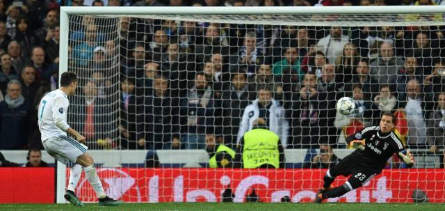 Ronaldo ya suma 11 partidos seguidos marcando en Champions League. ElPaís.com.