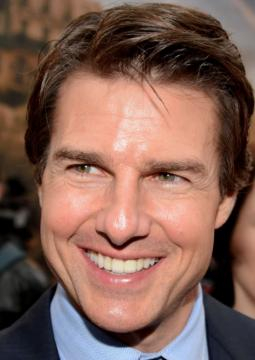 Tom Cruise en Paris durante la premiere francesa Edge of Tomorrow, Mayo 2014. (Georges Biard)