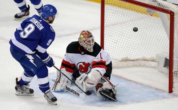 El primer sembrado del Este, arrancó fuerte ganando en Amelie Arena contra los Devils. NHL.com.