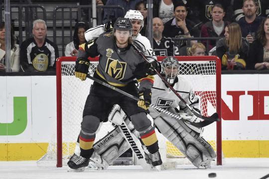Karlsson no anotó gol pero sigue siendo uno de los estandartes ofensivos de los Golden Knights. NHL.com.