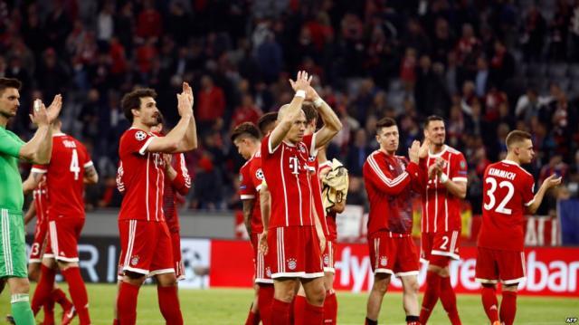 Le Bayern Munich en demi-finales après son nul contre Séville - voaafrique.com