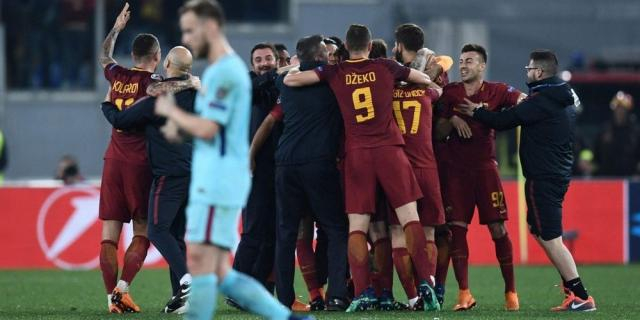 Ligue des Champions : Rome terrasse Barcelone et rejoint Liverpool ... - sudouest.fr