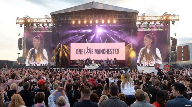 One Love Manchester' Concert Raises Millions for Victims - voanews.com