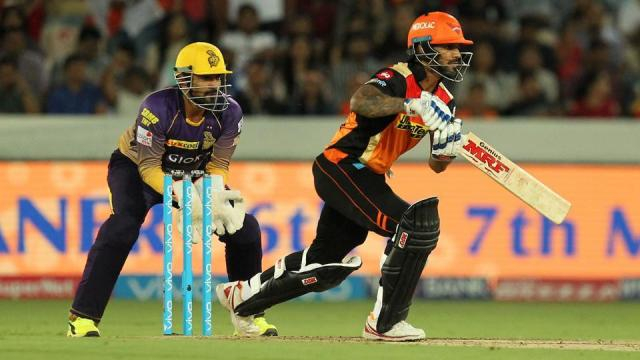 Sunrisers Hyderabad vs Kolkata Knight Riders, IPL 2017, live (Image Credit: BCCI.TV)