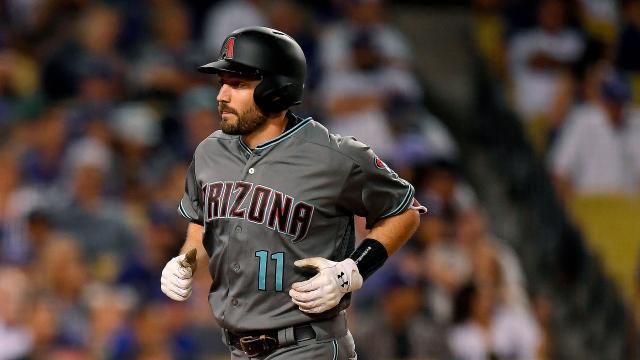 AJ Pollock es una seria amenaza contra los pitchers contrarios, al estar de leadoff de Arizona. MLB.com.