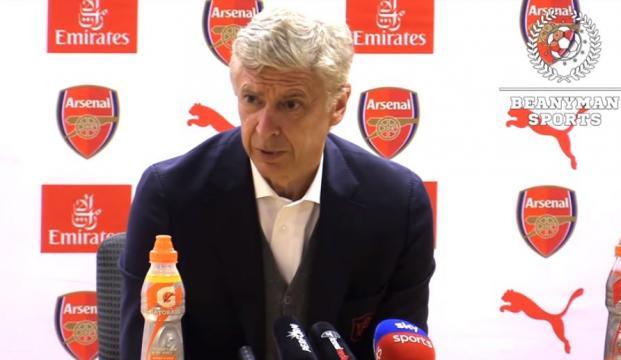 Arsene Wenger Post Match Press Conference - Image - Beanyman Sports   YouTube