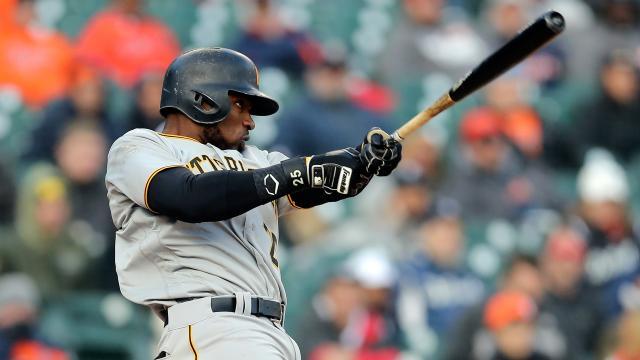 Polanco compensa su pobre AVG con su poder de HR en el lineup de Pittsburgh. MLB.com.