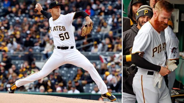 Taillon y Moran han sido piezas claves en el buen inicio Pirate. MLB.com.