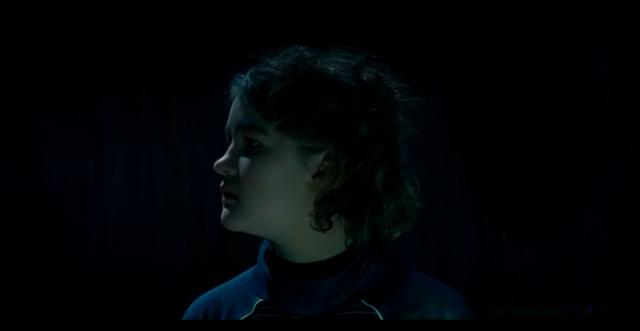 Deaf actress Millicent Simmonds stars in 'A Quiet Place.' [Image source: Paramount Pictures/YouTube screencap]