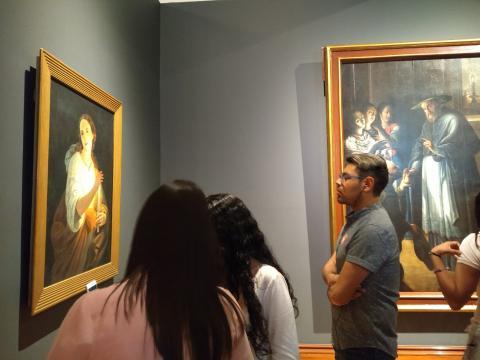 El Museo reacomodó su colección para expresar la tendencia tenebrista caravaggesca.
