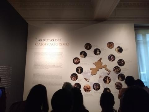 El préstamo dio pie a una museografía breve para explicar al artista en su contexto.