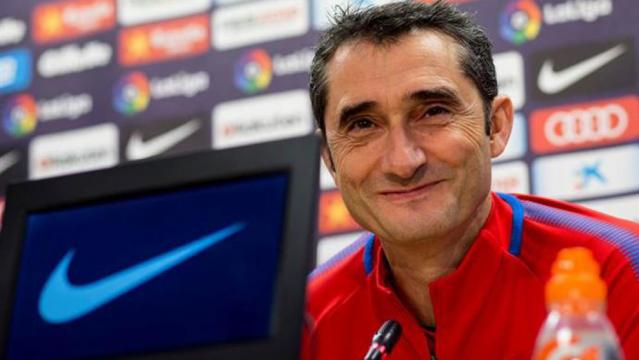 LaLiga - Barcelona: Valverde: We'd have taken a blood oath to be ... - marca.com