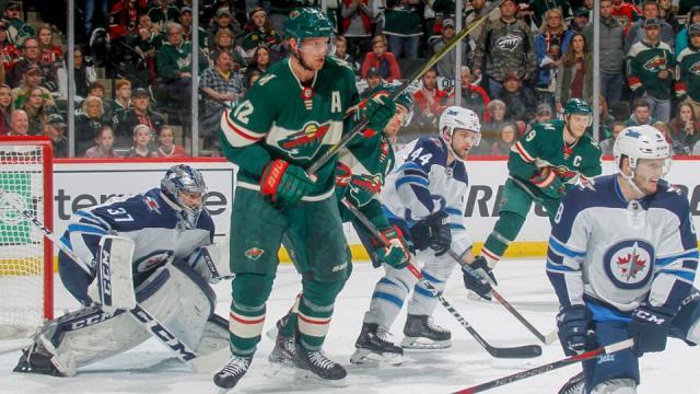 Staal ha estado seco por el Wild en estos playoffs. NHL.com.
