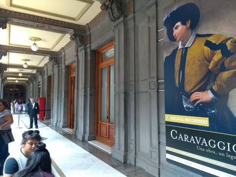 Uno de los inmuebles más entrañables del Centro, el MUNAL presenta a Caravaggio.