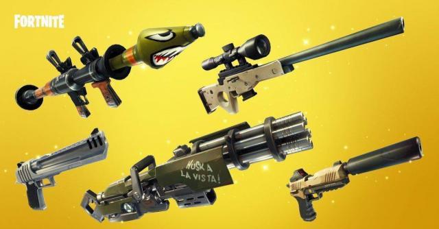 Fortnite Battle Royale estrena nuevas armas