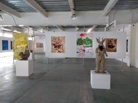 Se ha construido una galería nueva para el montaje de exposiciones que reflejan el talento de Guerrero.