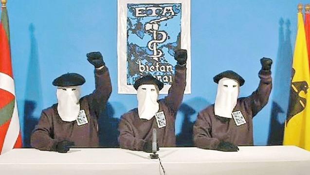 ETA anunció que deja de extorsionar a los empresarios del País Vasco - clarin.com