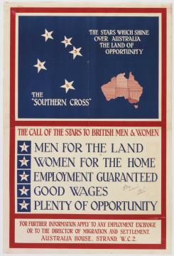 Southern Cross - call to British, Wikimedia Commons
