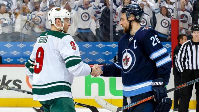 Los Jets de Blake Wheeler ganaron su primera serie de playoff. NHL.com.