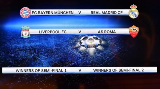 Ligue des champions : Bayern-Real et Liverpool-Rome en demi ... - snfoot.tk