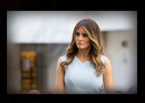 Melania Trump gets an early birthday present from her husband: Photo: News Hollywood Youtube screenshot